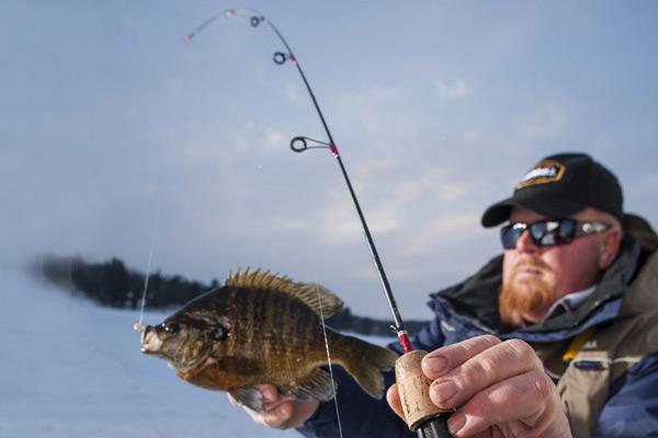 چوب ماهیگیری مخصوص زیر یخ